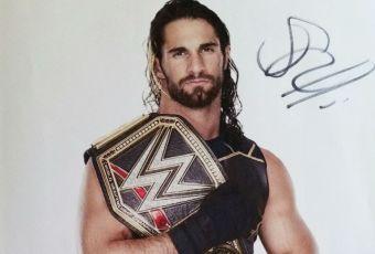 Seth Rollins Autograph
