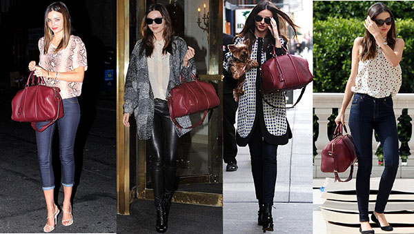The Many Bags Of Miranda Kerr Celebrity Bag Styles