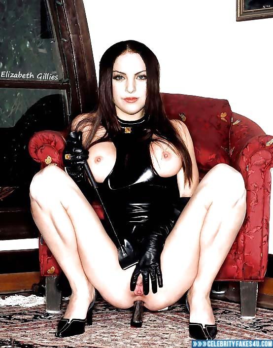 Elizabeth Gillies Anal Toy Bdsm Naked 001 ...