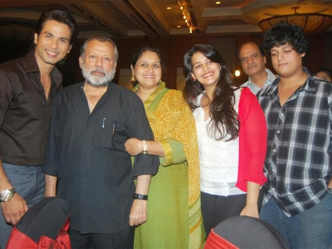 Shahid Kapoor Ruhan Kapoor Stepmother and half siblings
