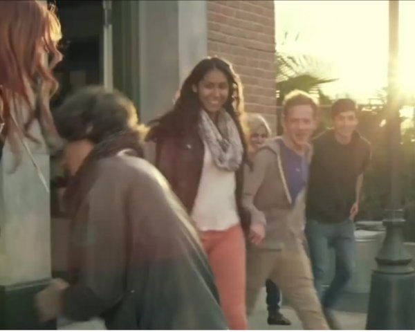 """Mariana Flores featured here in the music video """"Meant to be"""" by Sam Tsui"""