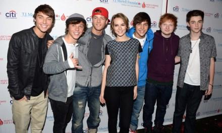 Photos: Emblem3, Austin Mahone, Bridgit Mendler, Greyson Chance & Ed Sheeran at T.J. Martell's Annual Family Day