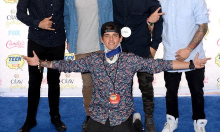 The Janoskians Pull a Prank at the 2014 Teen Choice Awards