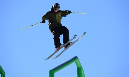 "See Tom Wallisch Ski Down the World's Longest Rail Slide on Tomorrow's ""World of X Games"""
