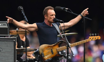 "Sting to Receive the ""American Music Award of Merit"" and Perform at the 2016 American Music Awards"