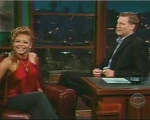 Christina Milian in The Late Late Show with Craig Kilborn
