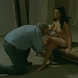 Emmanuelle Beart in La Belle Noiseuse