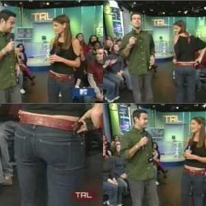 Katie Holmes in MTV's TRL