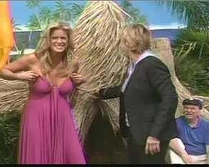 Rachel Hunter in The Ellen DeGeneres Show