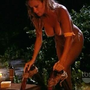 Rachel Hunter in The Real Gilligan's Island