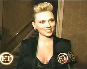 Scarlett Johansson in Entertainment Tonight