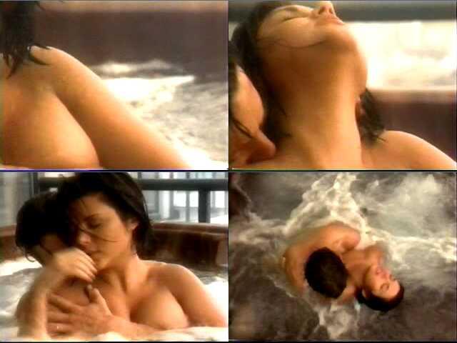 naked women in see through underwear