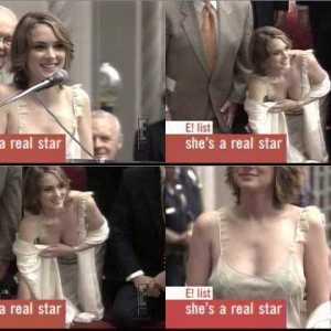 Winona Ryder in E!
