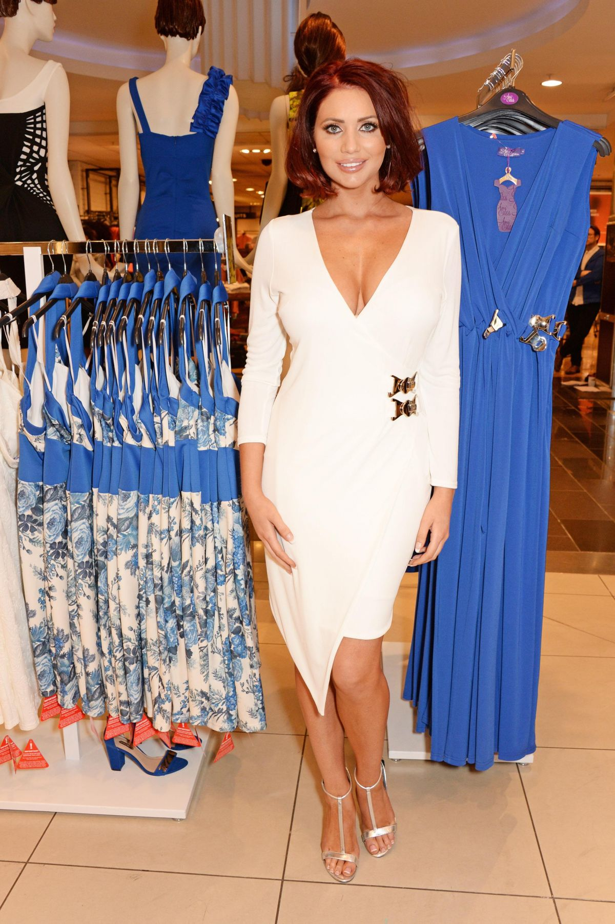 Dressing Perkin Amy Childs At Launch Of The Amy Childs Collection At