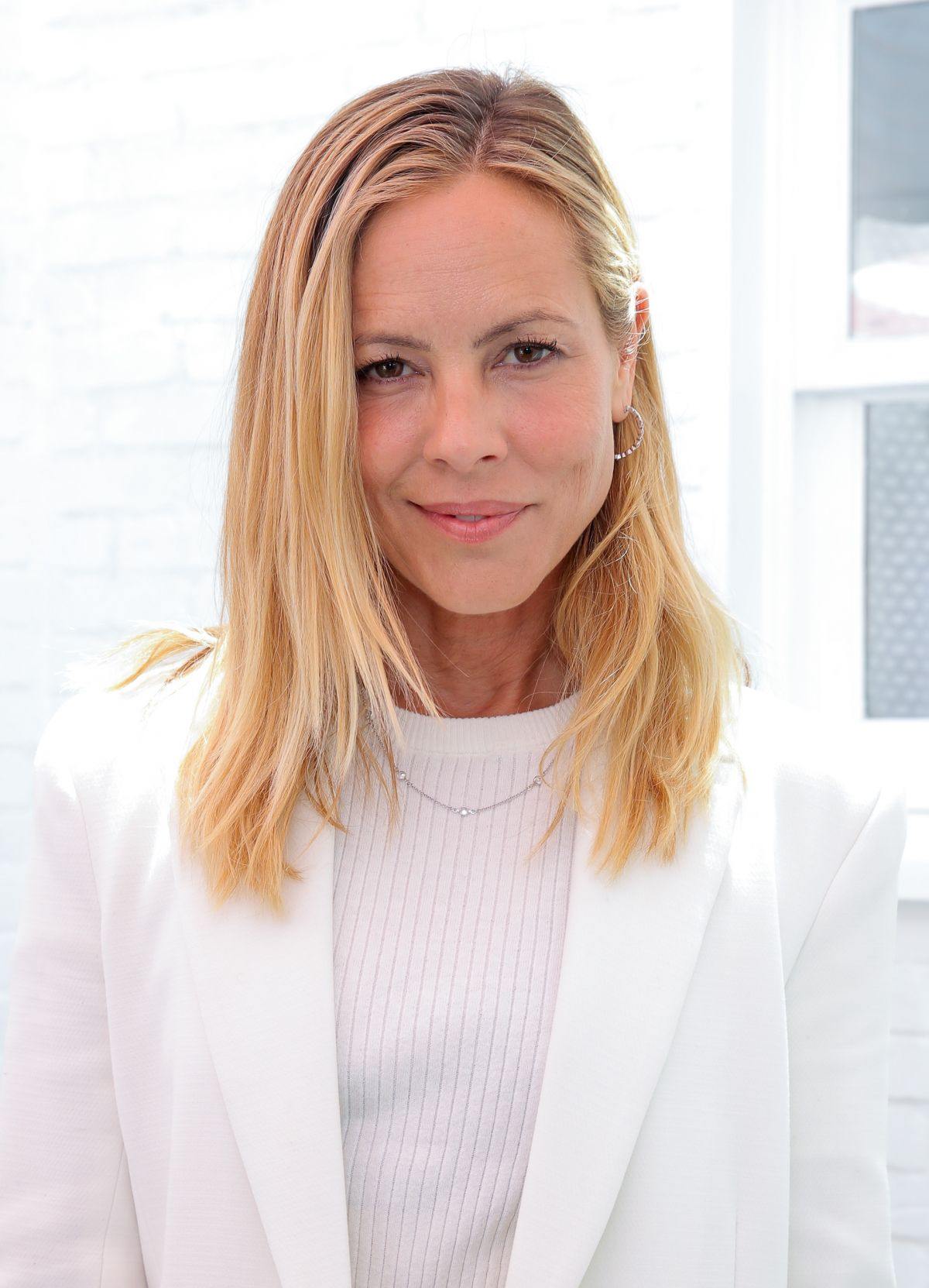 Salon Marie Glamour Maria Bello At Glamours Game Changers Lunch In West