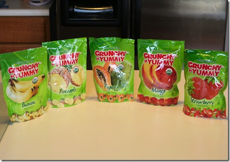 005 thumb2 Product Review: Crunchy & Yummy Freeze Dried Fruit