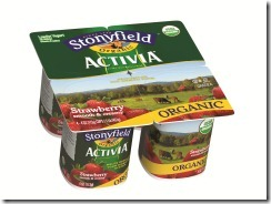 Activia Strawberry 4x4oz thumb Review: Stonyfield Organic Activia