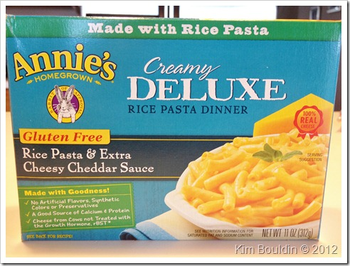 IMG 3074 thumb Review: Annie's Deluxe Mac & Cheese