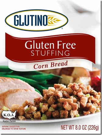 Glutino stuffing thumb Thanksgiving Gluten Free: Stuffing Options