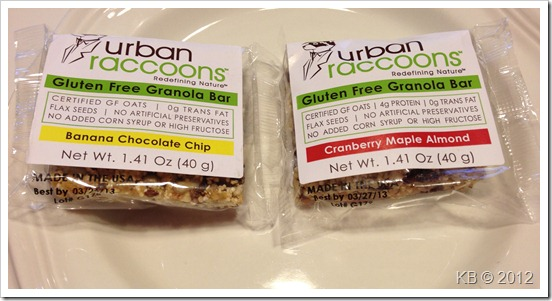 IMG 3224 thumb Review: Urban Raccoons Gluten Free Granola Bars