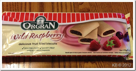 IMG 3795 thumb Review: Orgran Wild Raspberry Fruit Filled Cookies