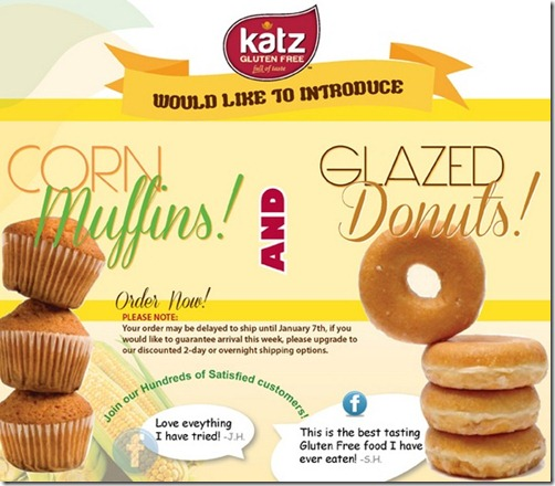 katznew thumb Katz Gluten Free Adds New Products for New Year