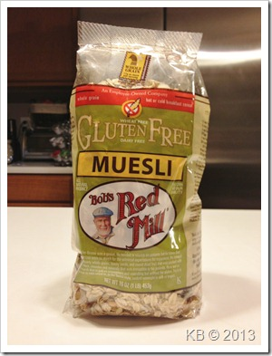 IMG 4392 thumb Review: Bob's Red Mill Gluten Free Muesli