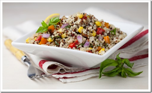 Rainbow Summer Salad LS thumb Quinoa Summer Salad Recipe