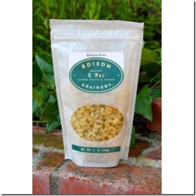 q mac organic quinoa mac cheese thumb Review: Edison Grainery Q Mac & Cheese