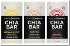 chiabar thumb Review: Health Warrior Chia Bars
