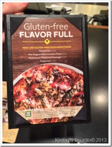 photo 1 thumb Review: California Pizza Kitchen Gluten Free Pizza