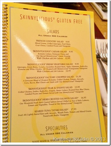 photo 2 3 thumb Cheesecake Factory Gluten Free Concerns