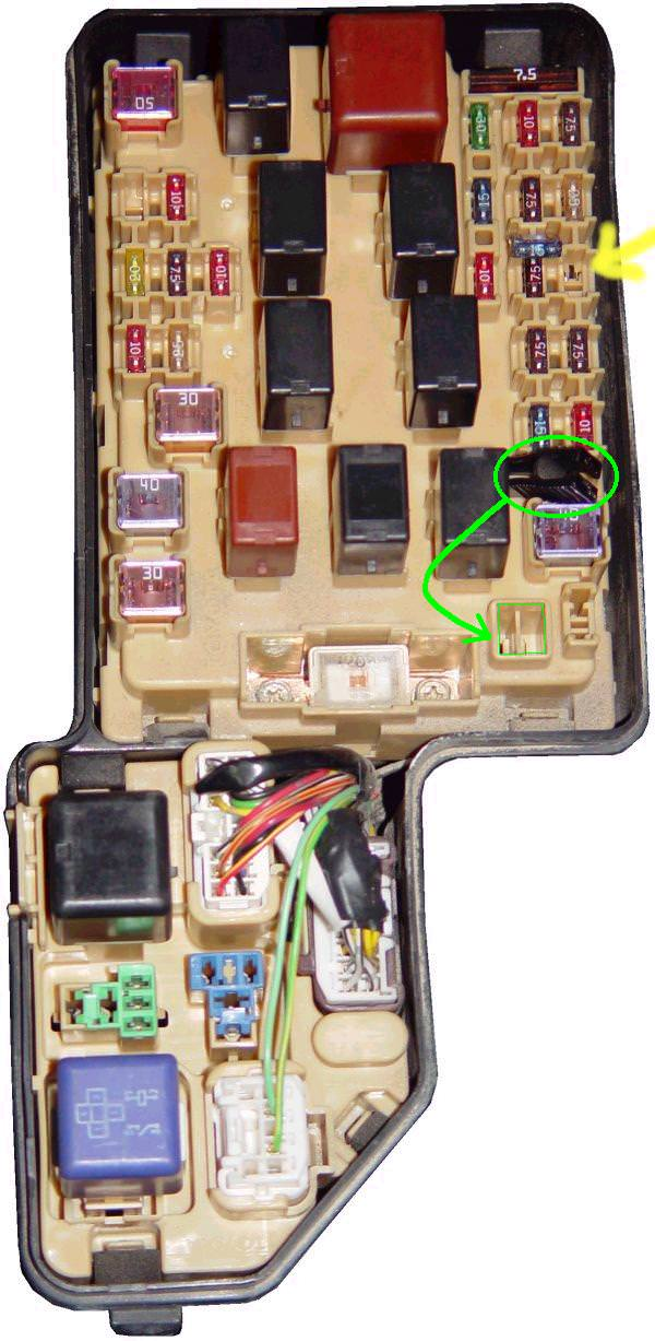 Toyota Celica Fuse Box Diagram Wiring Diagram
