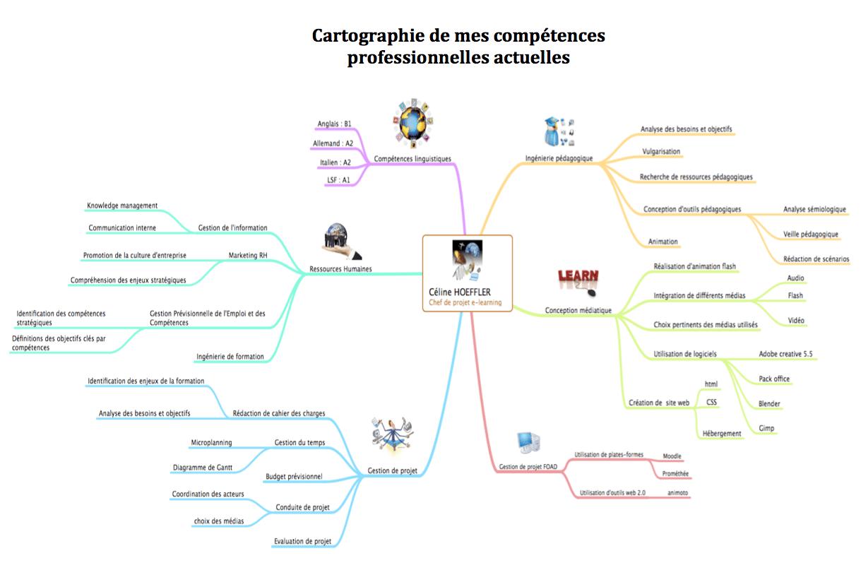 competences professionnelles sur cv