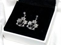 Celtic Maple Leaf Earrings - Celtic Canada