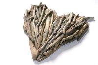 Heart Wall Art - Driftwood Art from Celtic Coast Creations