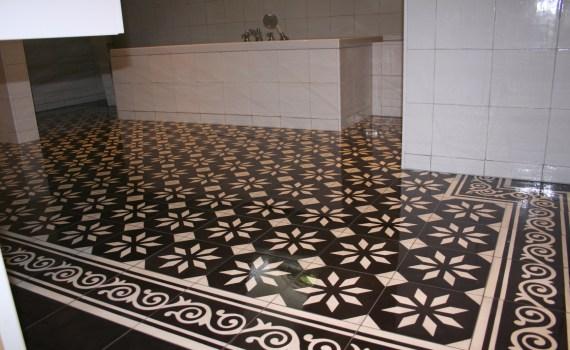 Cementtegels In Badkamer : Cementtegels portugese tegels cementtegels