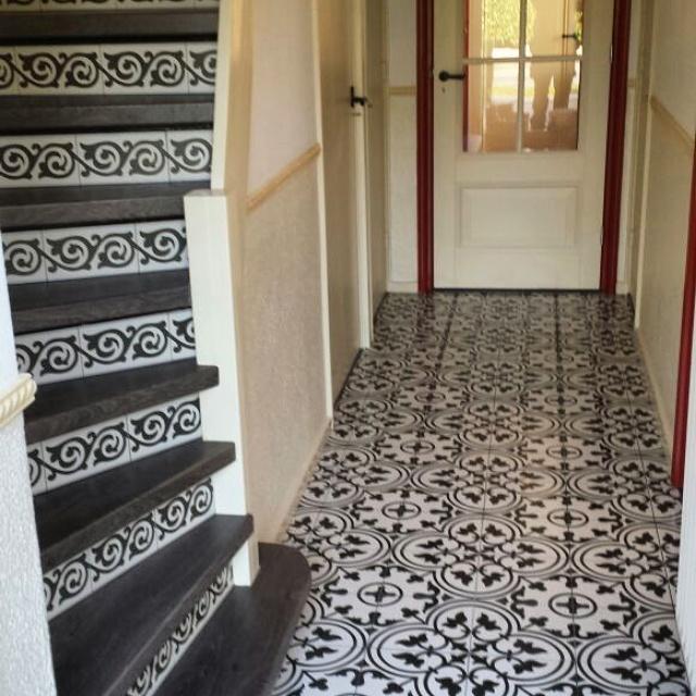 Vloertegels Keuken Zwart Wit : castello vloeren voegen – Cementtegels