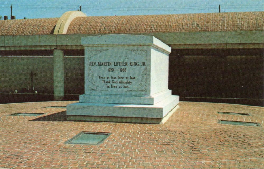 Cemetery of the Week #46:  the Martin Luther King Jr. gravesite (2/3)