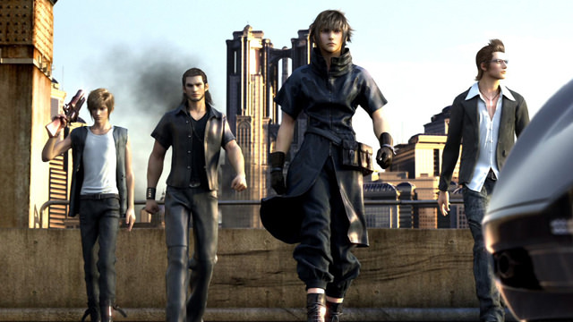 ... with Final Fantasy XV's ...