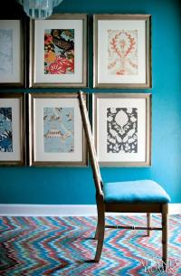 DIY Wall Art Projects with Wallpaper