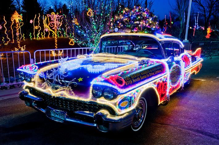 Muscle Car Pictures Wallpaper Christmas Lights Up The End Of The Year Center For Car