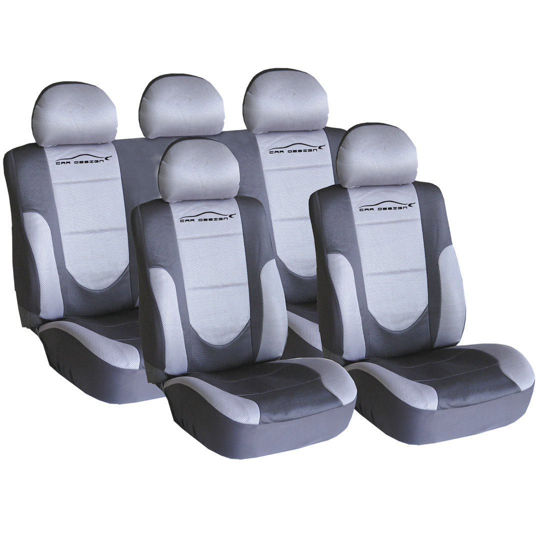 Asientos Para Autos Funda Textil Para Asientos Quotcar Design Quot Gris Fund90g