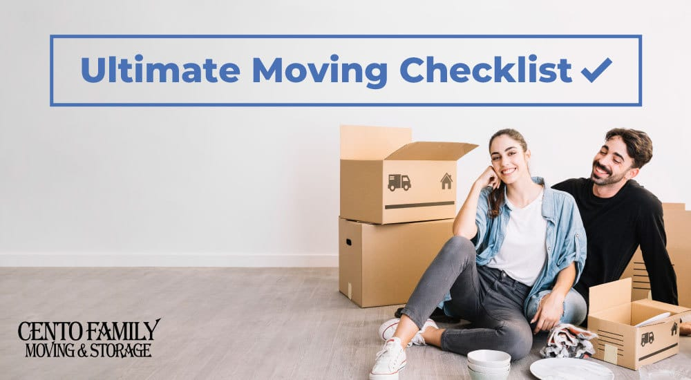 Cento Family Moving and Storage The Ultimate Moving Checklist PDF