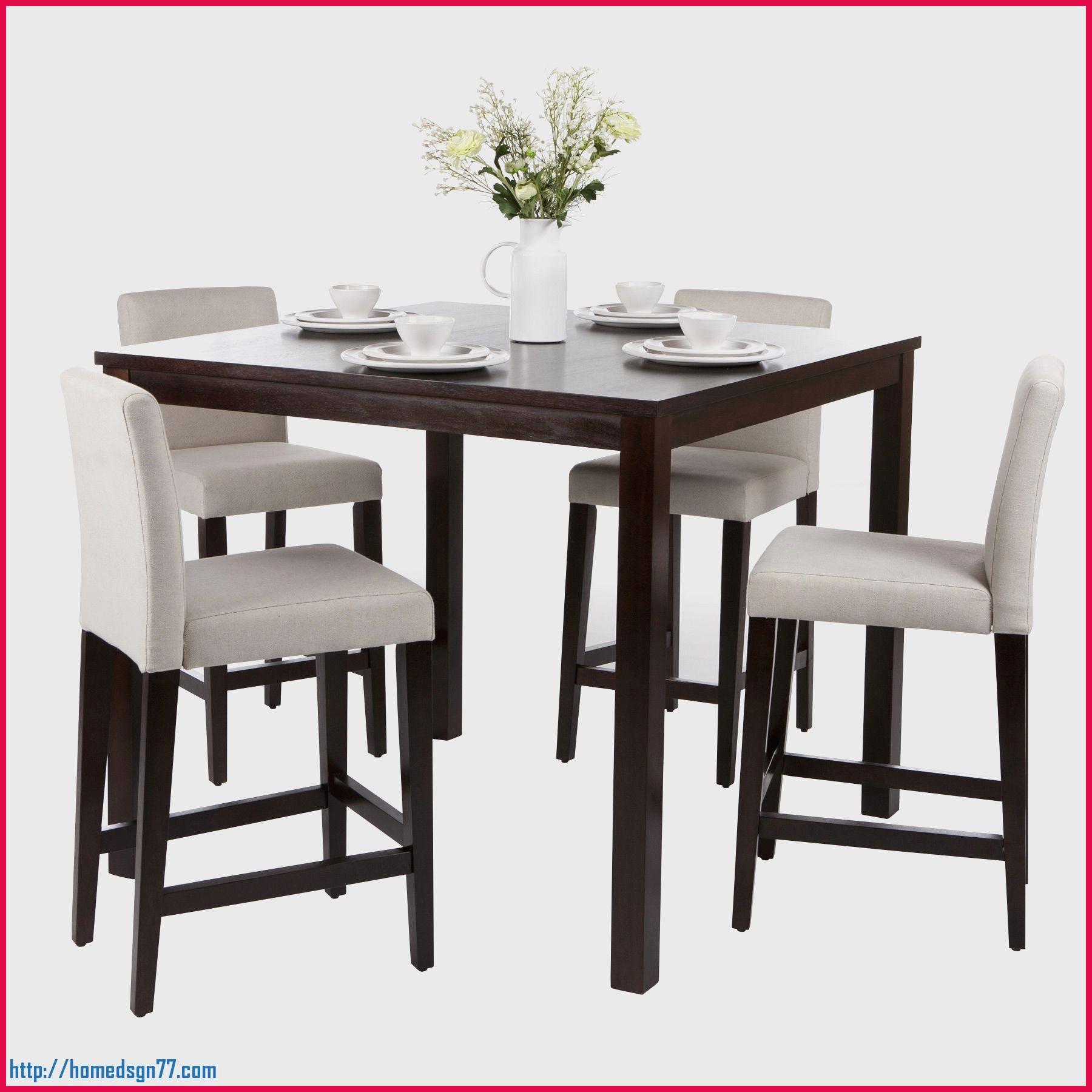Set De 1 Table Bar Et 4 Tabourets | Tabourets 2eme Main