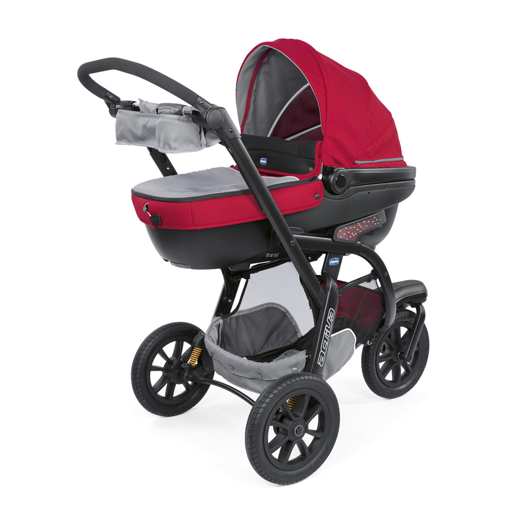 Poussette Trio Activ3 Chicco Pack Poussette Trio Activ3 Top Red Berry De Chicco
