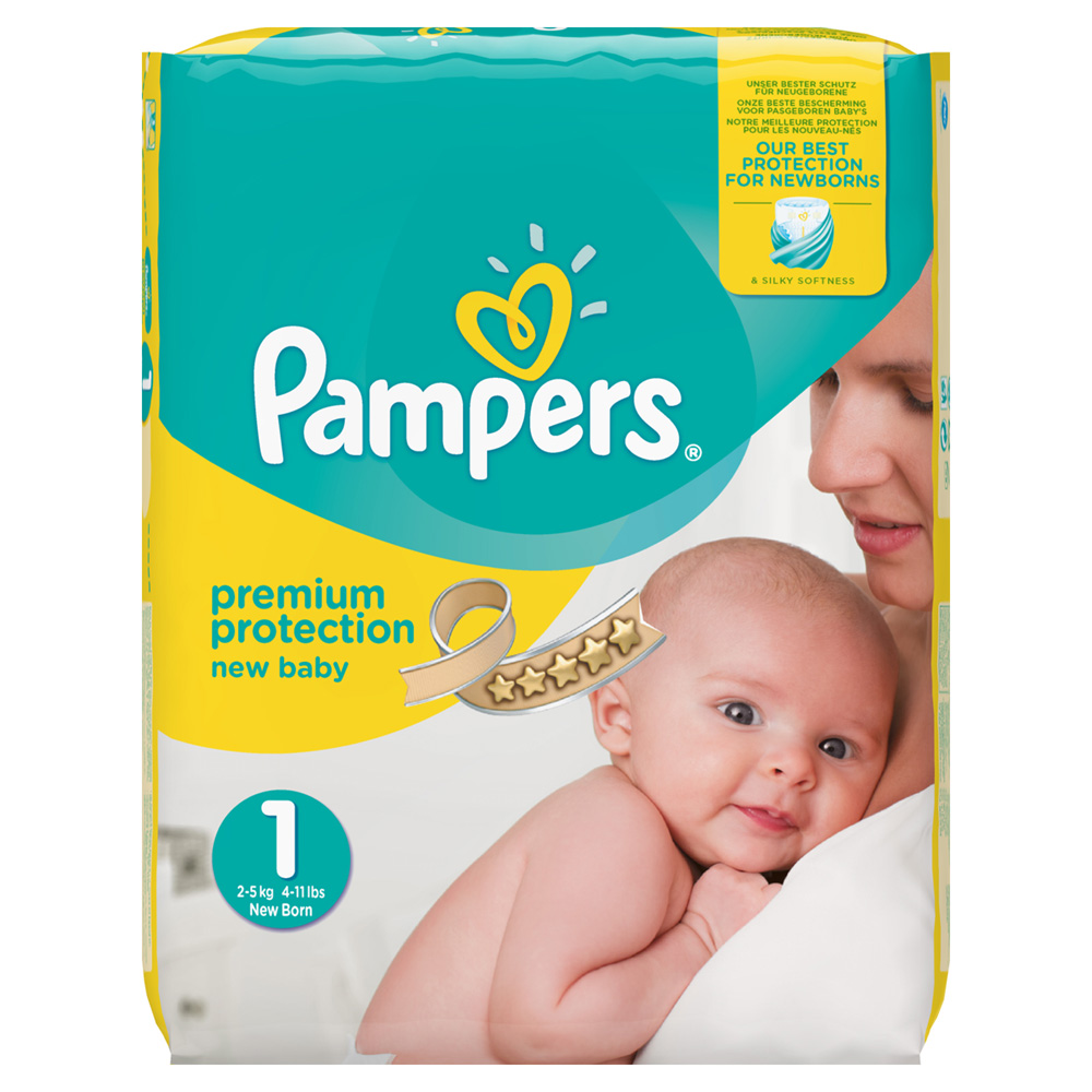 Couche Pampers Prix Couches Premium New Baby Taille 1 2 5 Kg 72 Couches Jumbo Pack