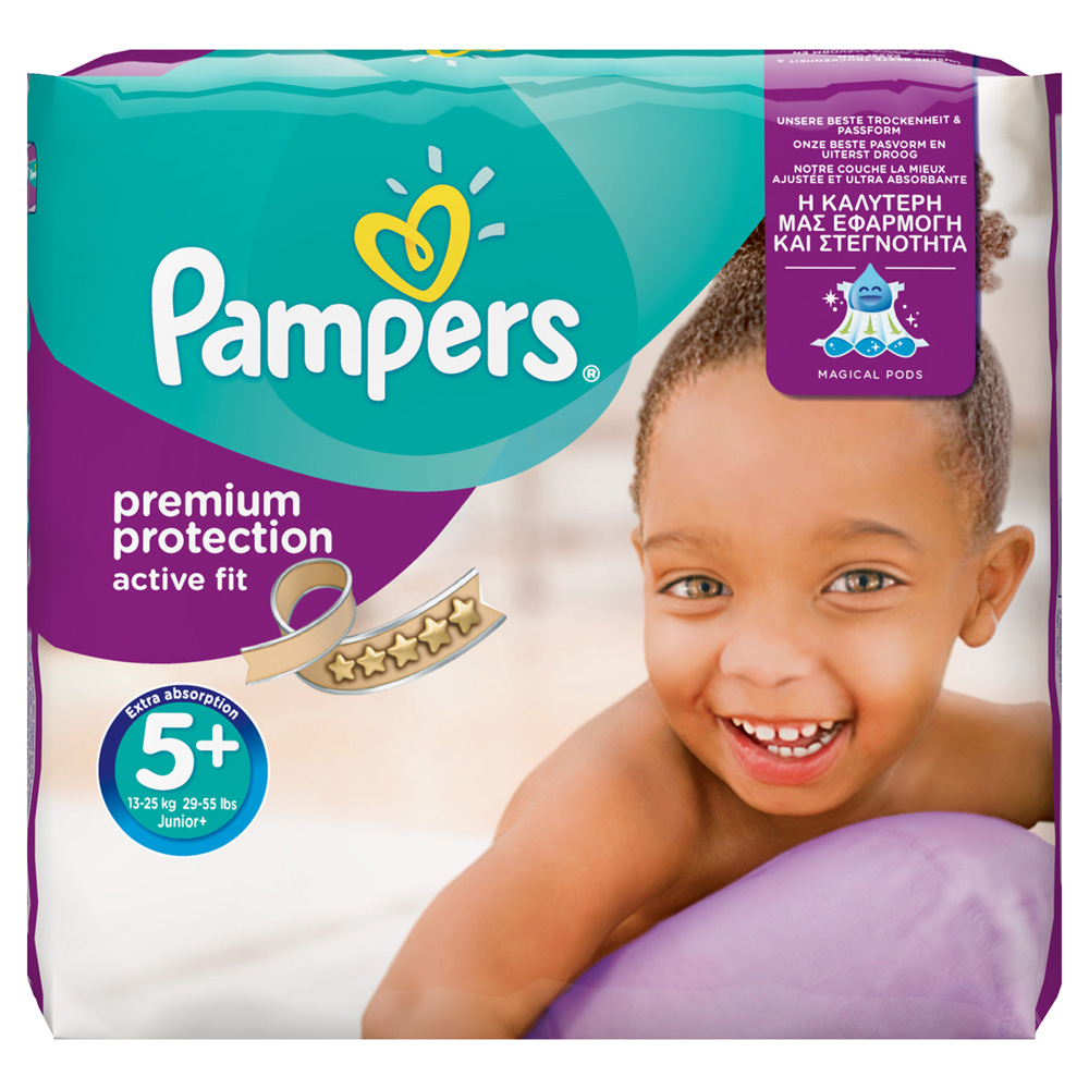 Couche Pampers Prix Couches Premium Active Fit Taille 5 13 27 Kg 124 Couches