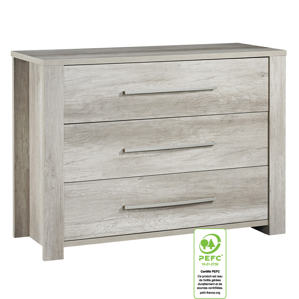 Meuble Commode Commode 3 Tiroirs Emmy