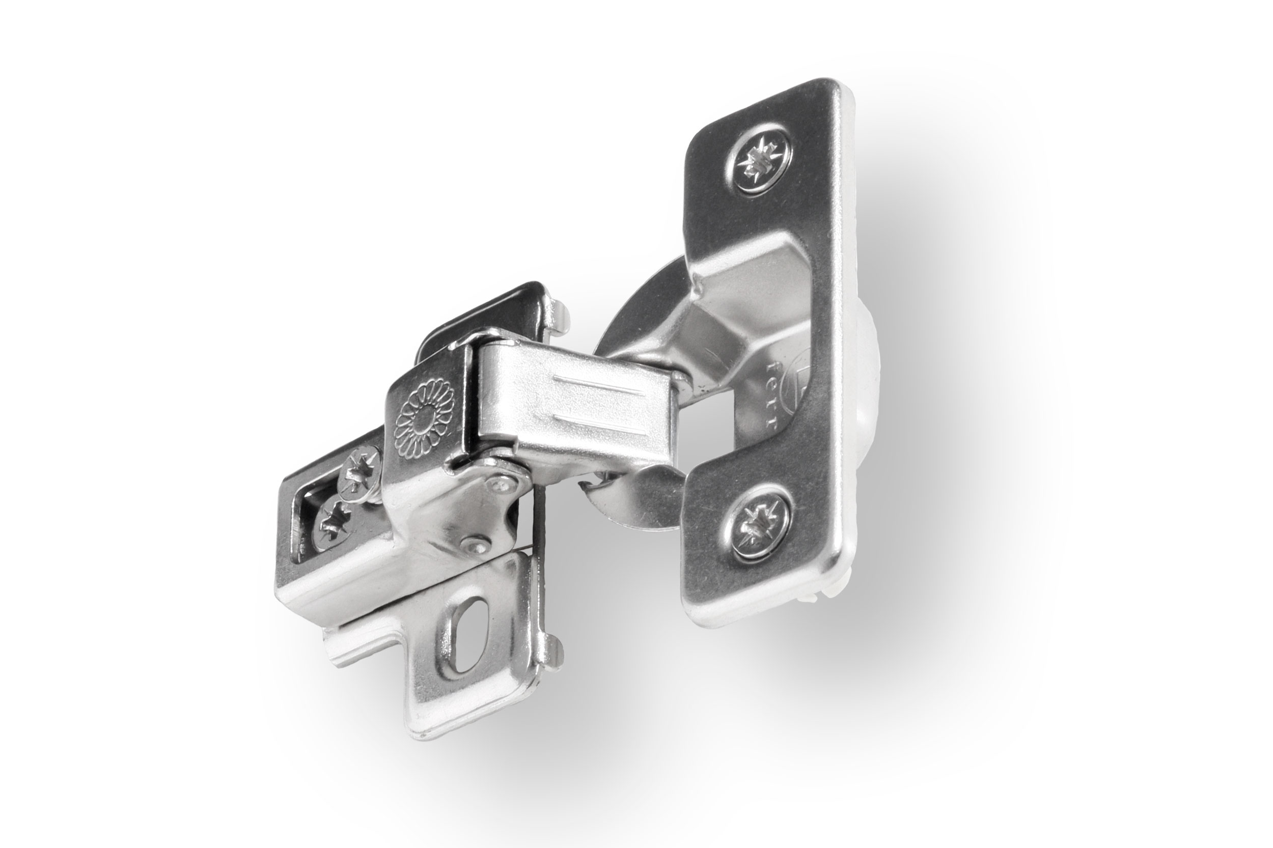 5 8quot Overlay 3 Way Adjustable Compact Hinge With Dowels By